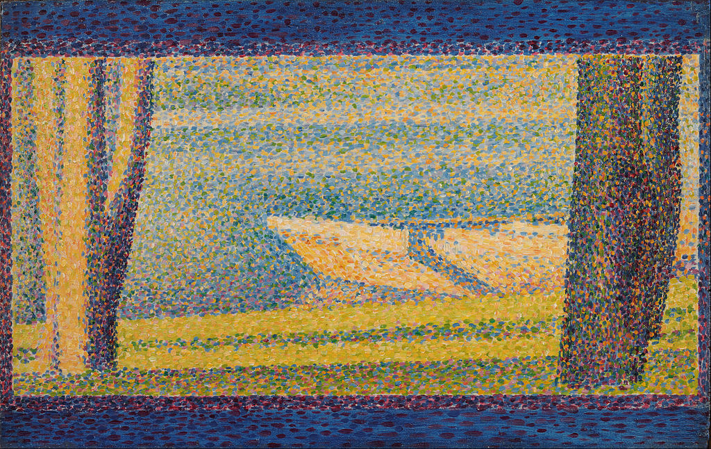 Georges Seurat, French - Moored Boats and Trees - Google Art Project.jpg
