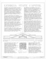 Georgia State Capitol, Capitol Square, Atlanta, Fulton County, GA HABS GA,61-ATLA,3- (sheet 1 of 52).png