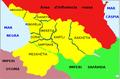 Georgia segona partició 1490.png