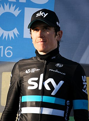 Geraint Thomas - Thomas at the 2016 Paris–Nice