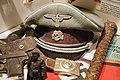 "German peaked visor cap with SS skull emblem (Totenkopf), belt buckle (Meine Ehre heisst Treue), etc. Lofoten Krigsminnemuseum (""Gestapo office"") Svolvær, Norway 2019-05-08 DSC00193.jpg"