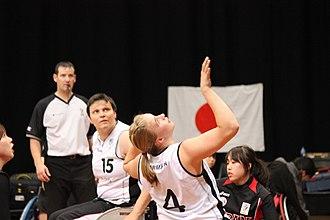 Mareike Miller - Image: Germany women's national wheelchair basketball team 6880 07