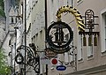 Getreidegasse Salzburg 薩爾茲堡糧食衚衕 - panoramio.jpg