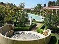 Getty villa, peristilio esterno 04.JPG