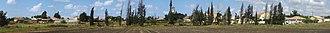 Geulei Teiman - Image: Geulei Teiman panorama from south 01