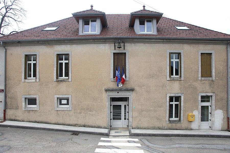 Mairie de Gevresin (Doubs).