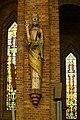 Gien l'Église Sainte-Jeanne-d'Arc (statue de St Pierre).jpg