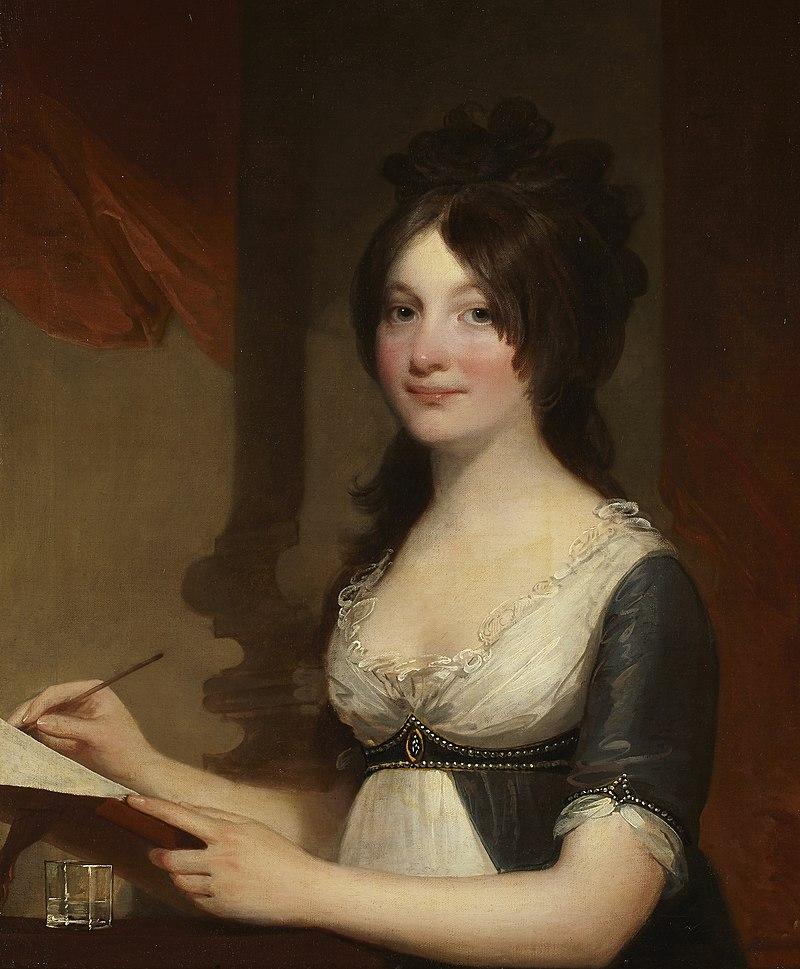 Гилберт Стюарт - Портрет молодой женщины - 77.426 - Музей Индианаполиса Art.jpg