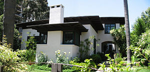 Irving Gill - Cossitt House, San Diego, California