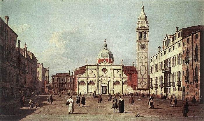 Giovanni Antonio Canal, il Canaletto - Campo Santa Maria Formosa - WGA03907
