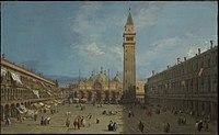 Giovanni Antonio Canal, il Canaletto - Piazza San Marco - WGA03883.jpg