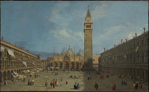 Giovanni Antonio Canal, il Canaletto - Piazza San Marco - WGA03883