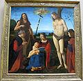 Giovanni antonio boltraffio, pala casio, 1500, da cappella casio in s.m. della misericordia vicino bologna.JPG