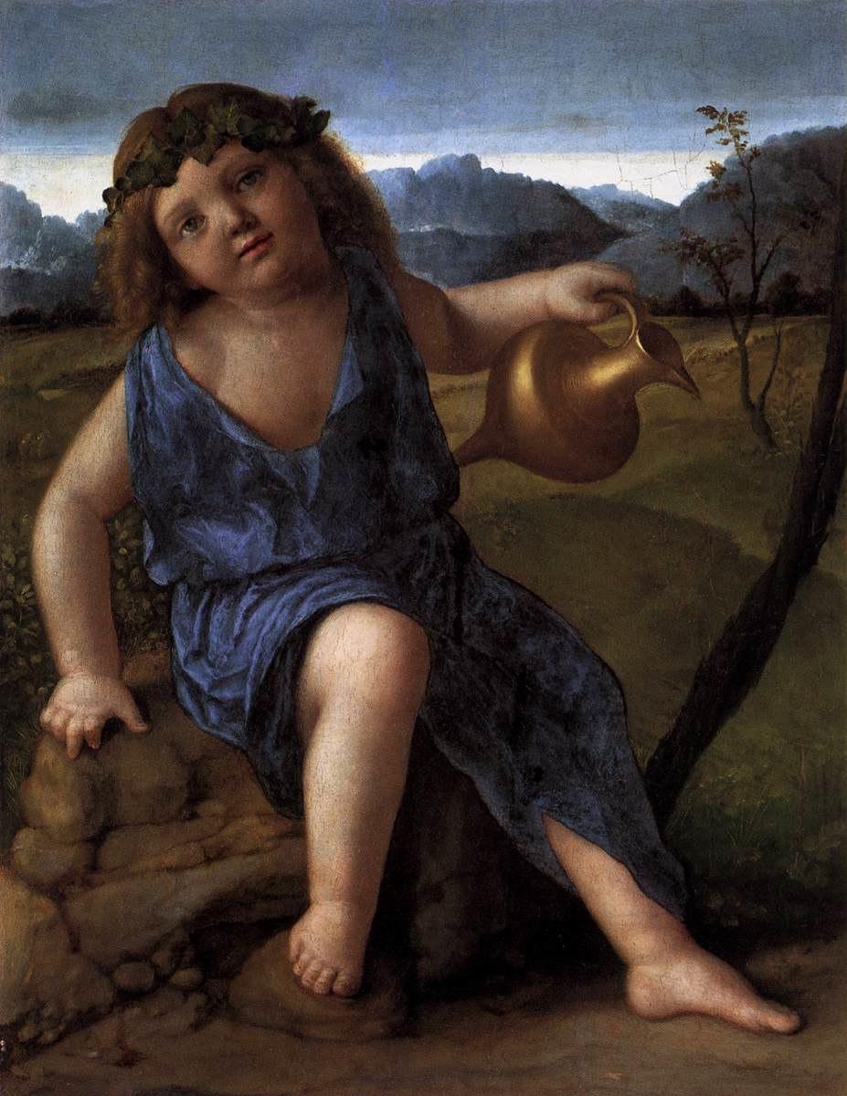 Giovanni bellini, Young Bacchus