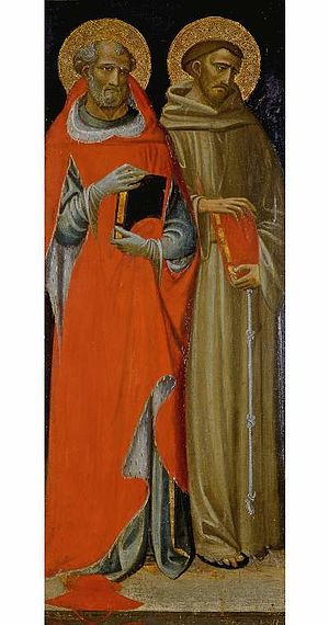 Giovanni dal Ponte - St Jerome and St Francis