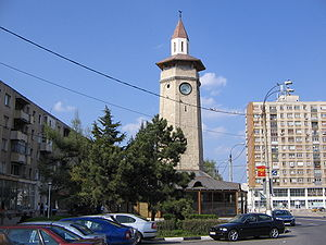 Turks of Romania - Ottoman clock tower in Giurgiu