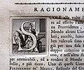 Giuseppe maria bianchini, Dei Granduchi di Toscana della real Casa De' Medici, per gio. battista recurti, venezia 1741, 13 ferdinando I, 5 capolettera.jpg