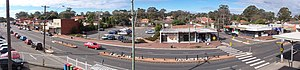 Glenfield, New South Wales - Glenfield Panorama