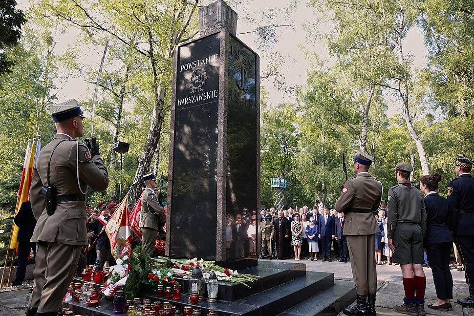 Gloria Victis 1944 Monument in Warsaw