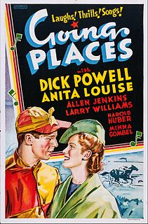 <i>Going Places</i> (1938 film) 1938 film by Ray Enright