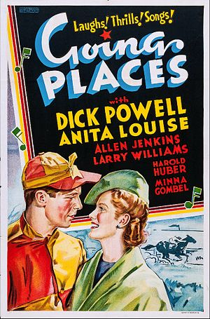 Going Places (1938 film) - Film poster