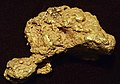 Gold nugget (placer gold) (Bulger Basin Placer Deposit, Pennsylvania Mountain, Alma Mining District, Park County, Colorado, USA) 2 (17068768015).jpg