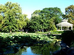 Goodale Park; the focal point of Victorian Village