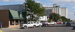 Downtown Gordon.