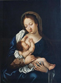Gossaert, Madonna with the Child
