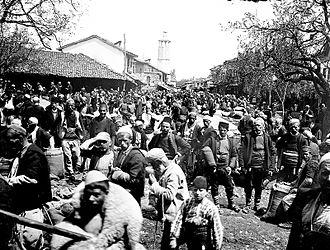 Gostivar - Gostivar Market April 1911