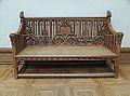Gothic revival furniture 01 (Tretyakov gallery) by shakko.JPG