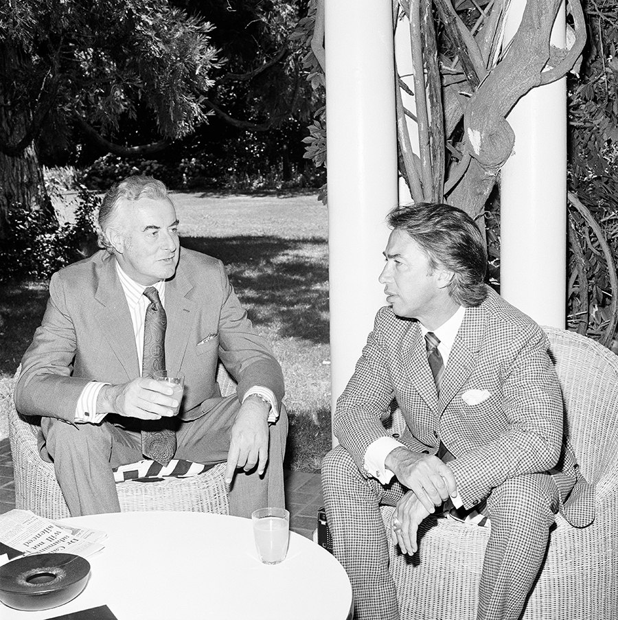 Gough Whitlam and Don Dunstan