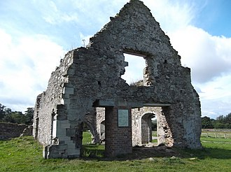 Grace Dieu Priory - Grace Dieu Priory chapter house