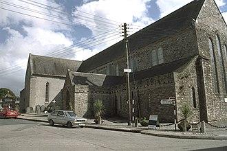 Duiske Abbey - Duiske Abbey as seen Abbey Street