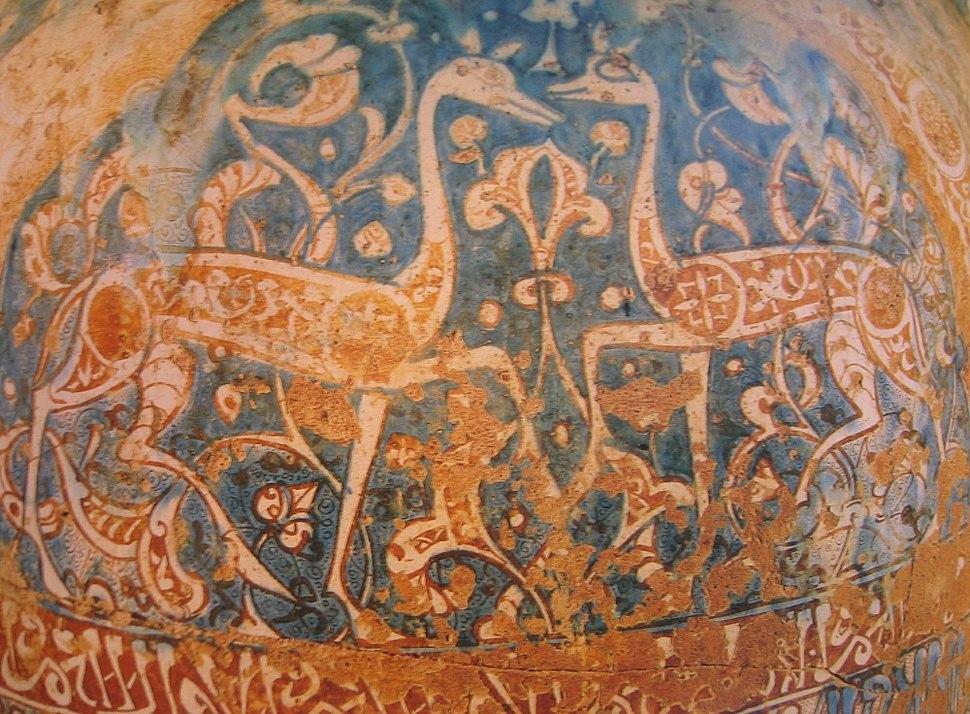 Granada Alhambra gazelle Poterie 9019