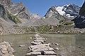 Grande Casse et lac des vaches l'été.JPG