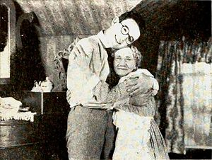 Anna Townsend - Still from Grandma's Boy (1922) with Lloyd and Townsend