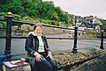 Grange-over-Sands Promenade (and a muddy student) - geograph.org.uk - 1620846.jpg
