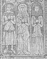 Gravmæle Keldby Kirke Møn af Løffler 1888.png