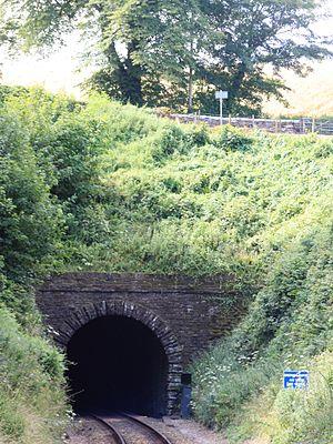 Dartmouth Steam Railway - Greenway Tunnel