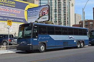Greyhound Canada - Motor Coach Industries 102DL3 in Toronto in October 2014