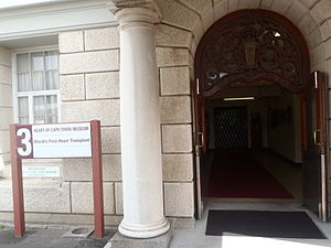 English: The old hospital building in Cape Tow...