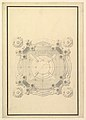 Ground Plan for a Catafalque for Louis, Dauphin of France, d. 1711 MET DP820110.jpg