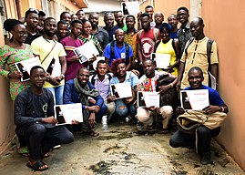 Group photograph of the the volunteer photographers at Lagos Municipalities Photowalk .jpeg