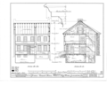 Grumblethorpe Tenant House, 5269 Germantown Avenue, Philadelphia, Philadelphia County, PA HABS PA,51-GERM,24- (sheet 5 of 9).png