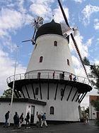 Wind mill in Gudhjem, Bornholm