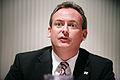 Guernseys finansminister Lyndon Trott vid Nordiska radets session i Helsingfors 2008-10-28.jpg