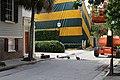 Guineas crossing King St., Charleston.jpg