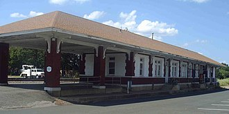 Gurdon, Arkansas - Train depot in Gurdon, June 2008