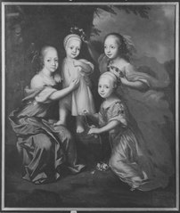 Gustav Adolfs hertig av Mecklenburg-Güstrow fyra barn